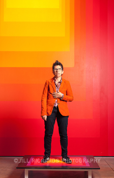 """Tania Katan is the """"Producer of Shenanigans"""" at Scottsdale Museum of Contemporary Art. Katan is a writer, performer, and program coordinator at the SMOCA. She also sets-up and hosts story-sharing events like Lit Lounge."""