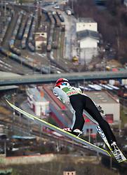 03.01.2013, Bergisel Schanze, Innsbruck, AUT, FIS Ski Sprung Weltcup, 61. Vierschanzentournee, Training, im Bild Jan Matura (CZE) // Jan Matura of Czech Republic during practice Jump of 61th Four Hills Tournament of FIS Ski Jumping World Cup at the Bergisel Schanze, Innsbruck, Austria on 2013/01/03. EXPA Pictures © 2012, PhotoCredit: EXPA/ Juergen Feichter