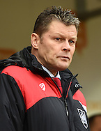 Steve Cotterill Manager of Bristol City during the Sky Bet Championship match at the New York Stadium, Rotherham<br /> Picture by Richard Land/Focus Images Ltd +44 7713 507003<br /> 28/11/2015