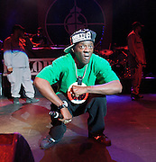 Public Enemy <br /> Performing Live <br /> at The Forum, Kentish Town, London, Great Britain <br /> 8th September 2011 <br /> <br /> <br /> Flavor Flav  (aka William Jonathan Drayton, JR)<br /> <br /> Photograph by Elliott Franks