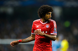 Bayern Defender Dante (BRA) looks on during the first half of the match - Photo mandatory by-line: Rogan Thomson/JMP - Tel: Mobile: 07966 386802 - 02/10/2013 - SPORT - FOOTBALL - Etihad Stadium, Manchester - Manchester City v Bayern Munich - UEFA Champions League Group D.