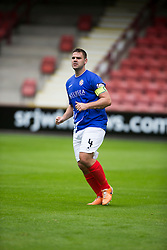 Cowdenbeath's John Armstrong. <br /> Dunfermline 5 v 1 Cowdenbeath, Scottish League Cup game played today at East End Park.