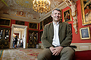 28.09.2006 Warszawa dyrektor Muzeum Palac w Wilanowie Pawel Jaskanis.Fot Piotr Gesicki Pawel Jaskanis director of Wilanow Palace Museum in Warsaw Poland in his work photo Piotr Gesicki