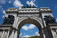 Soldiers'  and Sailors' Arch at Grand Army Plaza