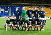 10th November 2017, McDiarmid Park, Perth, Scotland, UEFA Under-21 European Championships Qualifier, Scotland versus Latvia; Scotland team group