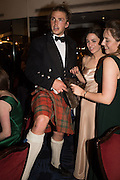 DIGBY WALKER, LOTTIE MURRAY; ALEXANDRA ROGERS, The Royal Caledonian Ball 2015. Grosvenor House. Park Lane, London. 1 May 2015.