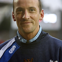 St Johnstone v Morton....08.12.07 <br /> Paul Sheerin wearing the white ribbon<br /> Picture by Graeme Hart.<br /> Copyright Perthshire Picture Agency<br /> Tel: 01738 623350  Mobile: 07990 594431