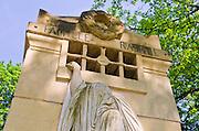Raspail mausoleum at Père Lachaise Cemetery, Paris, France