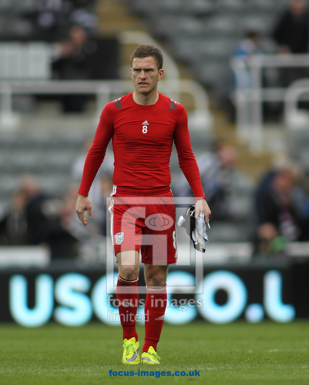 Craig Gardner of West Bromwich Albion during the Barclays Premier League match at St. James's Park, Newcastle<br /> Picture by Stephen Gaunt/Focus Images Ltd +447904 833202<br /> 09/05/2015