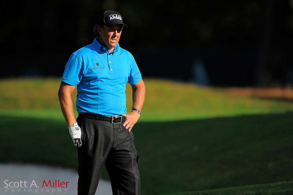 Phil Mickelson (USA) during the final round of the PGA Tour Championship the final event of the 2009 FedEx Cup at East Lake Golf Club on Sept. 27, 2009 in Decatur, Ga.     ...©2009 Scott A. Miller