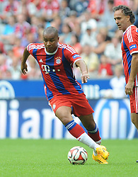 09.08.2014, Allianz Arena, Muenchen, GER, 1. FBL, FCB AllStars vs ManUtd. Legends, im Bild Paulo Sergio (FC Bayern Allstars) // during a Friendly Match between FCB AllStars and ManUtd. Legends at the Allianz Arena in Muenchen, Germany on 2014/08/09. EXPA Pictures © 2014, PhotoCredit: EXPA/ Eibner-Pressefoto/ Stuetzle<br /> <br /> *****ATTENTION - OUT of GER*****