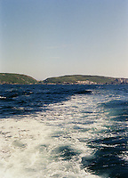 view from ferry boat, West Cork, Ireland
