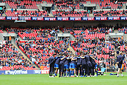 AFC Wimbledon promotion to League One, after beating Plymouth Argyle Football Club 2-0 during the Sky Bet League 2 play off final match between AFC Wimbledon and Plymouth Argyle at Wembley Stadium, London, England on 30 May 2016. Photo by Stuart Butcher.