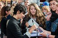 """Audrey Tautou """"Coup de coeur"""" et rencontre avec le public lors de la  29eme édition du Festival du Film Francophone, Namur le 03 octobre 2014 Belgique"""