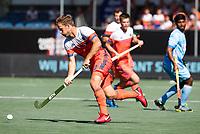 BREDA -Jeroen Hertzberger (Ned)   tijdens Nederland- India (1-1) bij  de Hockey Champions Trophy. India plaatst zich voor de finale.   COPYRIGHT KOEN SUYK