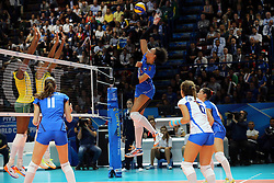ITALY VALENTINA DIOUF <br /> ITALY - BRASIL <br /> VOLLEYBALL WOMEN'S WORLD CHAMPIONSHIP 2014<br /> MILAN (ITA) 12-10-2014<br /> PHOTO BY FILIPPO RUBIN