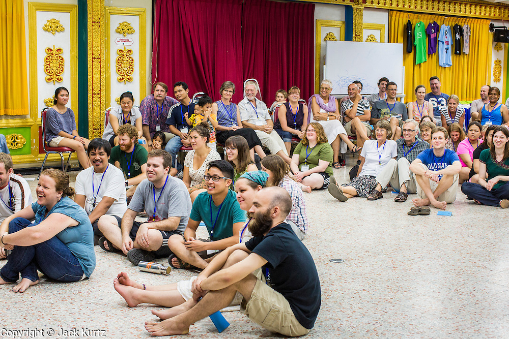 02 APRIL 2013 - PATTAYA, CHONBURI, THAILAND: People at the New Friars conference at the Ray Resort, in Pattaya, Thailand.     PHOTO BY JACK KURTZ