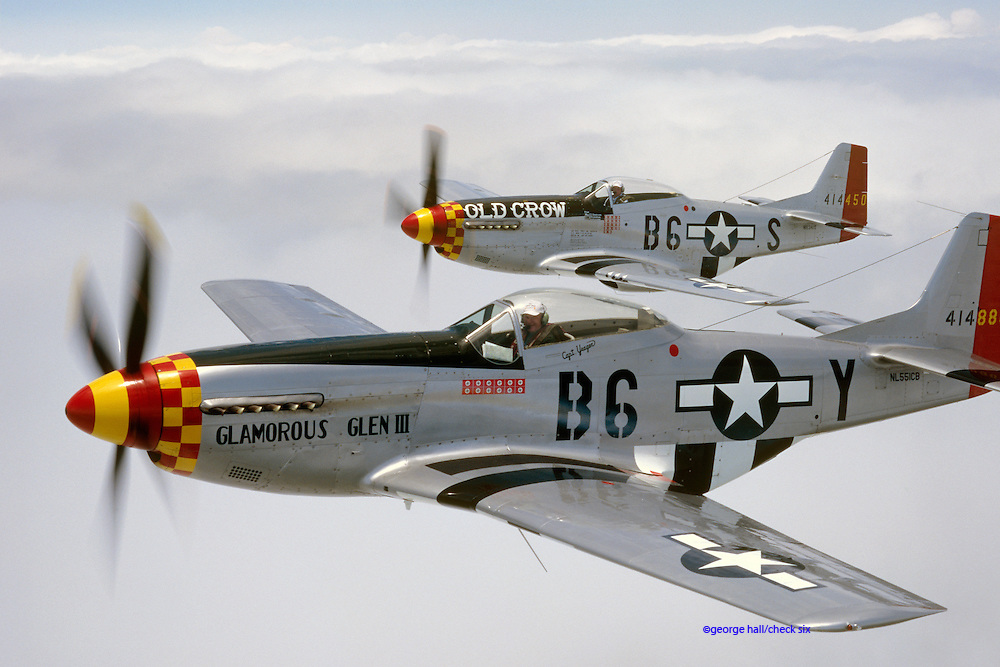 P-51Ds, Bud & Yeager