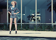 Summer fashion story photographed for Coco Eco in Beverly Hills, CA