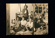 Dr HIROSHI MARUYA. Hiroshima A-Bomb survivor. Honorary doctor of Kyoritsu Hospital and poet. COPY of an old photo Dr. Maruya is the second from the right at the back. In this photo, together with his fellow highschool students at the school dormitory.