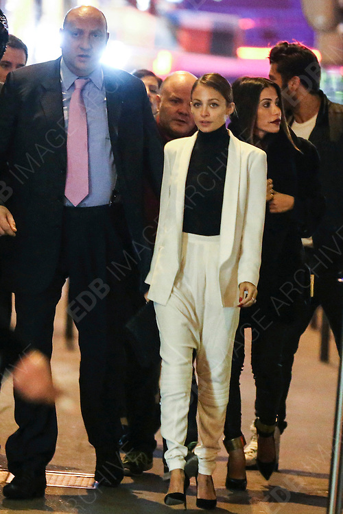02.MARCH.2013. PARIS<br /> <br /> NICOLE RICHIE IS SEEN LEAVING THE CAVIAR KASPIA RESTAURANT IN PARIS.<br /> <br /> BYLINE: EDBIMAGEARCHIVE.CO.UK<br /> <br /> *THIS IMAGE IS STRICTLY FOR UK NEWSPAPERS AND MAGAZINES ONLY*<br /> *FOR WORLD WIDE SALES AND WEB USE PLEASE CONTACT EDBIMAGEARCHIVE - 0208 954 5968*