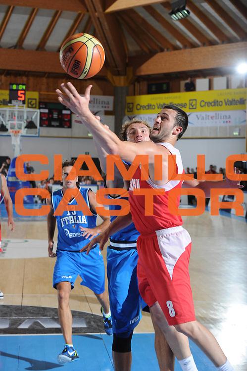 DESCRIZIONE : Bormio Torneo Internazionale Diego Gianatti Italia Bulgaria<br /> GIOCATORE : Videnov<br /> SQUADRA : Bulgaria<br /> EVENTO : Torneo Internazionale Guido Gianatti<br /> GARA : Italia Bulgaria<br /> DATA : 31/07/2011 <br /> CATEGORIA : tiro<br /> SPORT : Pallacanestro <br /> AUTORE : Agenzia Ciamillo-Castoria/GiulioCiamillo<br /> Galleria : Fip Nazionali 2011<br /> Fotonotizia : Bormio Torneo Internazionale Diego Gianatti Italia Bulgaria<br /> Predefinita :