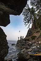 Cliff Jumping Lake Tahoe