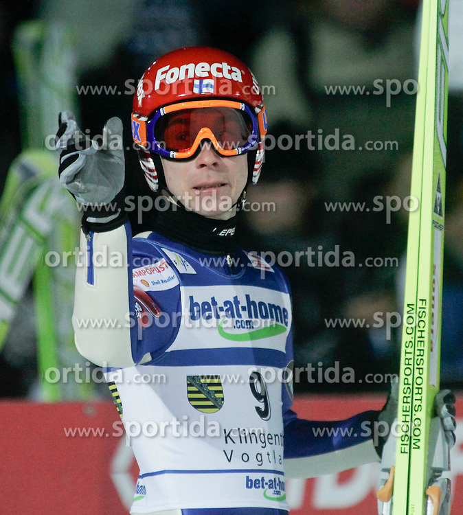 02.02.2011, Vogtland Arena, Klingenthal, GER, FIS Ski Jumping Worldcup, Team Tour, Klingenthal, im Bild HAPPONEN Jann (FIN) // during the FIS Ski Jumping Worldcup, Team Tour in Klingenthal, Germany, EXPA Pictures © 2011, PhotoCredit: EXPA/ Jensen Images/ Ingo Jensen +++++ ATTENTION +++++ GERMANY OUT!