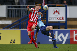March 9, 2019 - High Wycombe, Buckinghamshire, United Kingdom - SUnderlands Jimmy Dunne wins the ball during the Sky Bet League 1 match between Wycombe Wanderers and Sunderland at Adams Park, High Wycombe, England  on Saturday 9th March 2019. (Credit Image: © Mi News/NurPhoto via ZUMA Press)