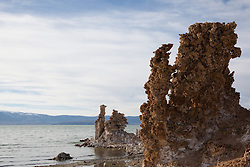 """Tufas at Mono Lake 6"" - These tufas were photographed at the South Tufa area in Mono Lake, California."