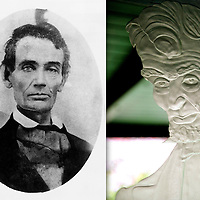 Abraham Lincoln, 19th century / Abraham Lincoln, 21st century
