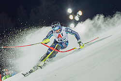 "29.01.2019, Planai, Schladming, AUT, FIS Weltcup Ski Alpin, Slalom, Herren, 1. Lauf, im Bild Andre Myhrer (SWE) // Andre Myhrer of Sweden in action during his 1st run of men's Slalom ""the Nightrace"" of FIS ski alpine world cup at the Planai in Schladming, Austria on 2019/01/29. EXPA Pictures © 2019, PhotoCredit: EXPA/ Dominik Angerer"