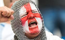 11-06-2016 FRA: UEFA EURO Engeland - Rusland, Marseille<br /> Engeland speelt gelijk tegen Rusland 1-1 / dressed England fan as an Crusader<br /> <br /> ***NETHERLANDS ONLY***