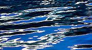 Reflected water patterns, Southeast Alaska.