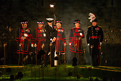 RHP - Candle lighting ceremony at The Tower Of London. London, November 07 2018.