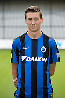 Club's Hans Vanaken poses for the photographer during the 2015-2016 season photo shoot of Belgian first league soccer team Club Brugge, Friday 17 July 2015 in Brugge