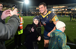 - Mandatory by-line: Alex Davidson/JMP - 22/12/2017 - RUGBY - Sixways Stadium - Worcester, England - Worcester Warriors v London Irish - Aviva Premiership