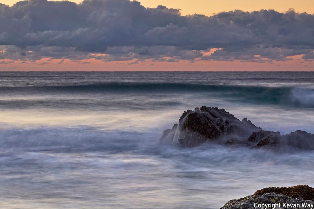 dawn waves in Byron
