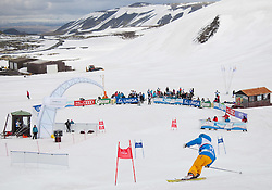 27.04.2012, Blaefjoll Mountains, ISL, FIS Alpine Ski WM Schladming 2013, PR Event, Fun Race, im Bild Stephan Eberharter // during Fun Race of PR Event of FIS Alpine Ski world championship 2013 Schladming at Blaefjoll Mountains, Iceland on 2012/04/27. EXPA Pictures © 2012, PhotoCredit: EXPA/ Johann Groder