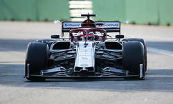 MELBOURNE, March 16, 2019  Alfa Romeo's driver Kimi Raikkonen competes during the Qualifying session of Formula 1 Australian Grand Prix 2019 at the Albert Park in Melbourne, Australia, March 16, 2019. (Credit Image: © Bai Xuefei/Xinhua via ZUMA Wire)