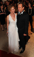 Sting and Trudy Styley arrive for the White House Correspondents Dinner in Washington, DC