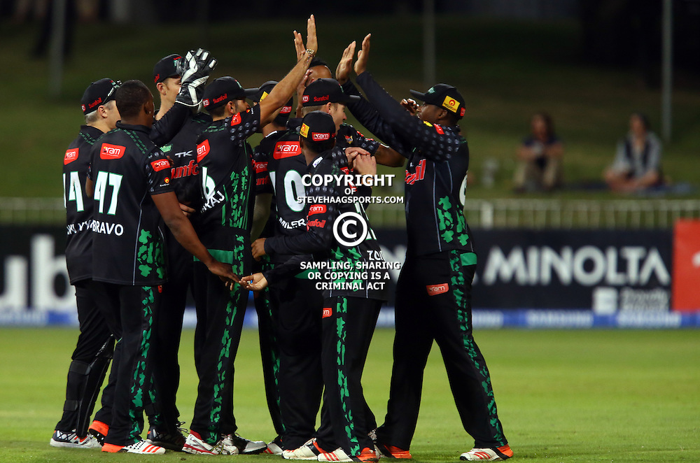 Durban South Africa - November 18: GV and Action during the RAM Slam T20 match between Sunfoil Dolphins and The Titans, November 18th,Sahara Stadium Kingsmead (Photo by Steve Haag)images for social media must have consent from Steve Haag
