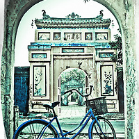Where: Hue, Vietnam. This fortified city used to be the capital of Vietnam around the time of the french. It was however completely destroyed during the Vietnam war. Still it has a beauty to the parts that remain.