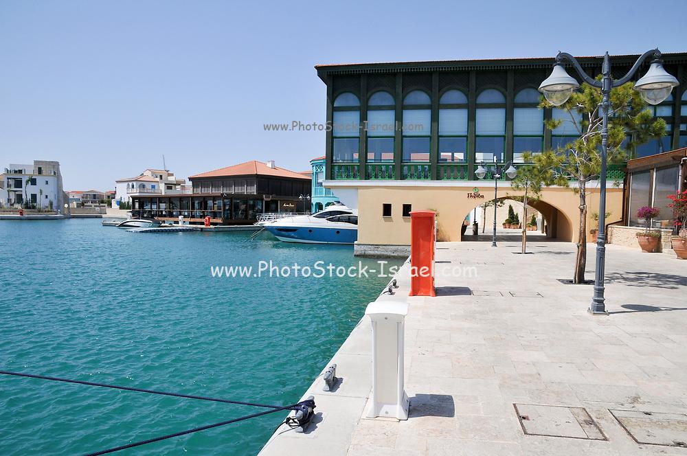 Limassol Marina and port, Cyprus