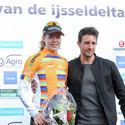 16-04-2016: Wielrennen: IJsseldelta Topcompetitie vrouwen: Zwolle<br />ZWOLLE (NED) wielrennen <br />Wind was in deze editie de grootste tegenstanders van de vrouwen. leidster topcompetitie Anna van der Breggen