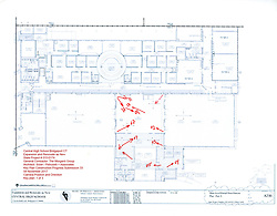 Key Plan 1 of 8: Central High School Bridgeport CT Expansion & Renovate as New. State of CT Project # 015-0174 Progress Submission 33 - 08 November 2017
