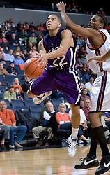Northwestern guard Michael Thompson (22)..The Virginia Cavaliers men's basketball team faced the Northwestern Wildcats at John Paul Jones Arena in Charlottesville, VA on November 27, 2007.