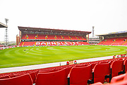 A general view of Oakwell Stadium before the Pre-Season Friendly match between Barnsley and Sheffield United at Oakwell, Barnsley, England on 27 July 2019.