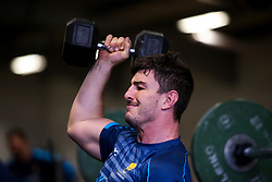 Sam Lewis of Worcester Warriors during training ahead of the Premiership Rugby fixture against Bristol Bears - Mandatory by-line: Robbie Stephenson/JMP - 21/03/2019 - RUGBY - Sixways Stadium - Worcester, United Kingdom - Worcester Warriors Training