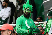A Pakistan fan in fancy dress during the ICC Cricket World Cup 2019 match between New Zealand and Pakistan at Edgbaston, Birmingham, United Kingdom on 26 June 2019.